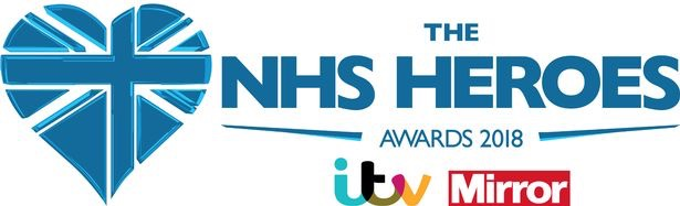 Daily Mirror ITV NHS Health Heroes logo