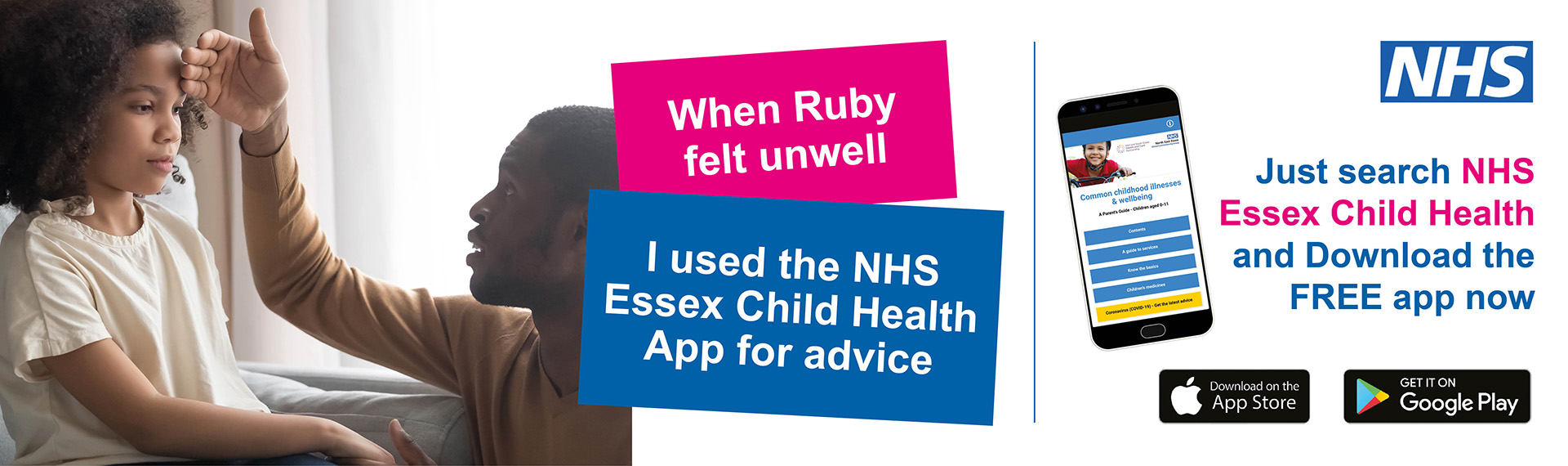 Essex Child Health App
