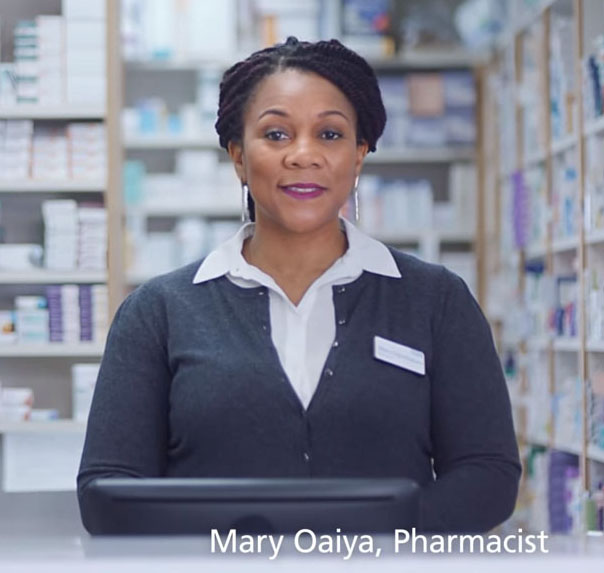 Mary Oaiya Community Pharmacist
